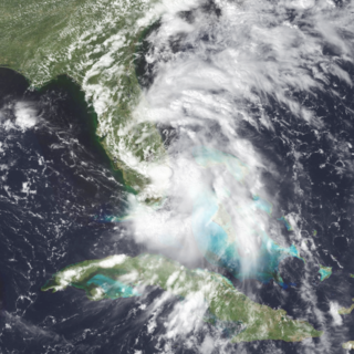 Tropical Storm Jerry (1995) Atlantic tropical storm in 1995