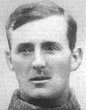 Football goalkeeper Jerry Dawson (1888-1970)