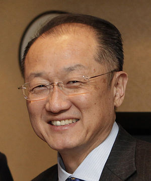 World Bank - Jim Yong Kim, the current President of the World Bank Group