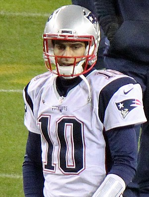 Jimmy Garoppolo - Garoppolo with the Patriots in 2015