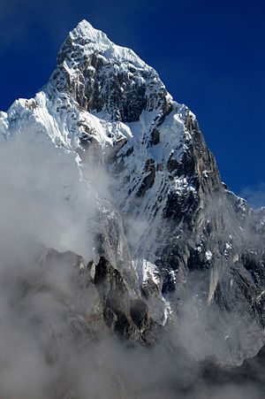 Cordillera Huayhuash - Image: Jirishanca Southeast Face