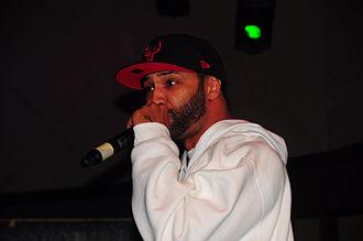 Joe Budden - Joe Budden performing in 2010.
