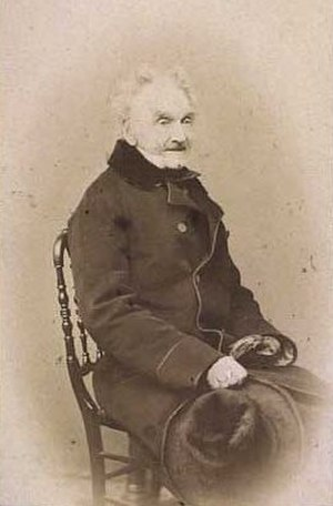 Johan Ludwig Lund - Johan Ludvig Lund. Photograph by Peter Most (1860/65)