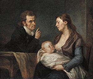 Johann Georg Edlinger - Image: Johann Georg Edlinger Family Portrait WGA7461