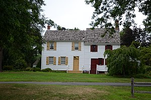 National Register of Historic Places listings in Mercer County, New Jersey - Image: John Abbott House 7 2011