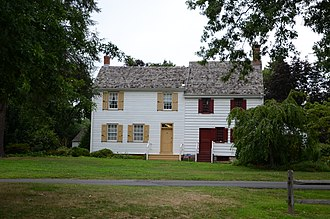 National Register of Historic Places listings in Mercer County, New Jersey - Image: John Abbott House 7 2011