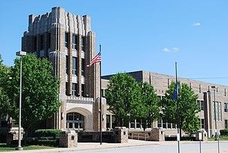 John Adams High School (Indiana) - Image: John Adams High School South Bend 2015