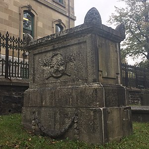 William Lawson (banker) - Grave of William Lawson's father and family, Old Burying Ground (Halifax, Nova Scotia)