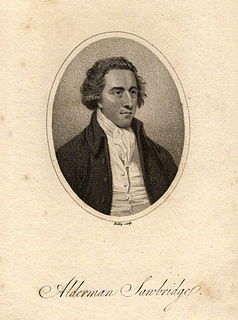 John Sawbridge Member of the Parliament of Great Britain