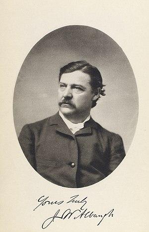 John W. Albaugh - Image: John W. Albaugh 1837 1909