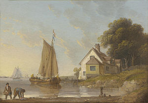 John Ward of Hull - Shipping off Northfleet, Thames.jpg