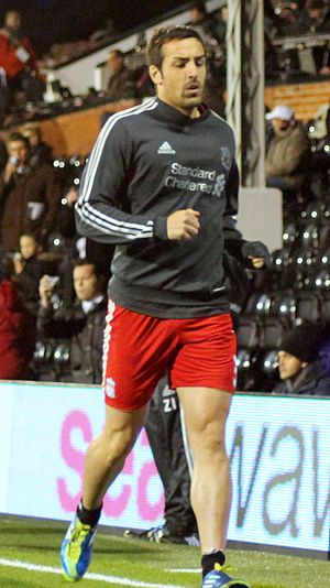 José Enrique (footballer) - José Enrique playing for Liverpool in 2011