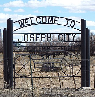 Joseph City, Arizona - Image: Joseph City Welcome to Joseph City