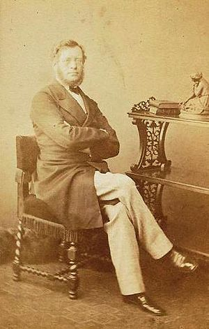 Joseph Cubitt - Joseph Cubitt photographed in the 1860s