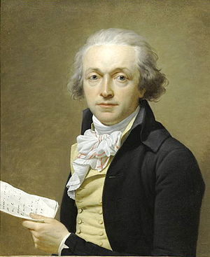 Jean-Louis Laneuville - Portrait of Joseph Delaunay