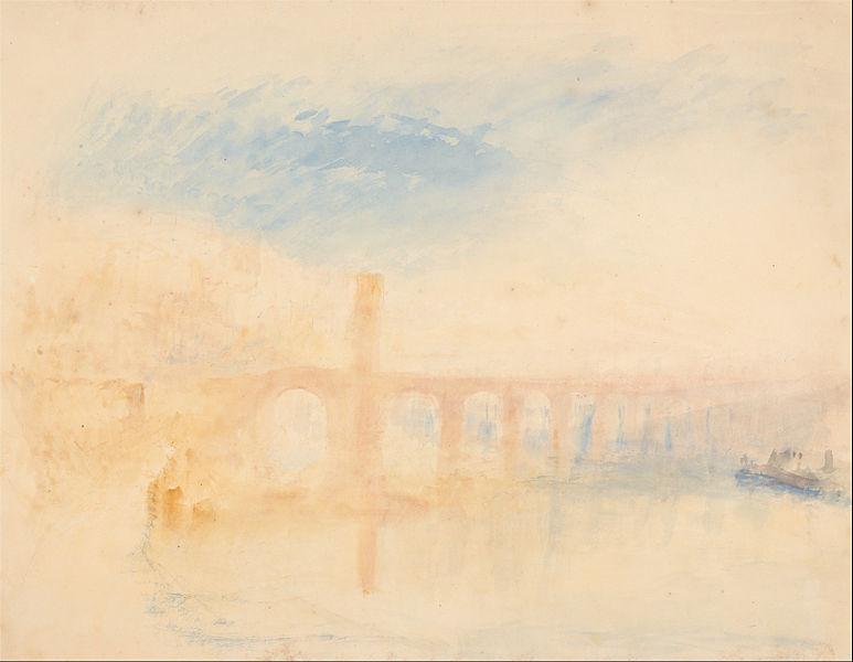 jmw turner and the walton bridge essay Joseph mallord william turner essays in colour (going deeper: color,  composition,  the thames near walton bridges joseph mallord william  turner, 1805.