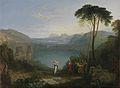 16 / Avernus-See: Äneas und die Cumaeische Sibylle