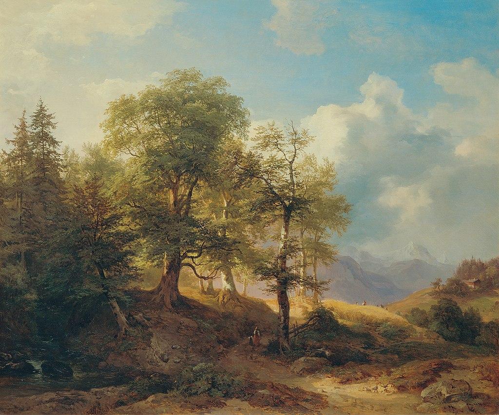 Joseph Martin Höger - Sommerlandschaft im Hochgebirge - 3100 - Kunsthistorisches Museum.jpg