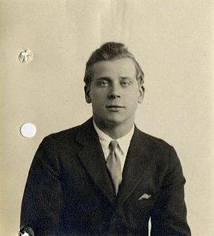 Ivan Triesault - Treisault in the 1920s.