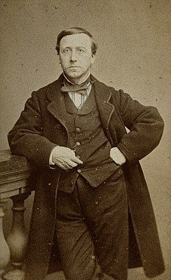 Jules-Emile Planchon. Photograph by Huguet-Moline. Wellcome V0027022.jpg