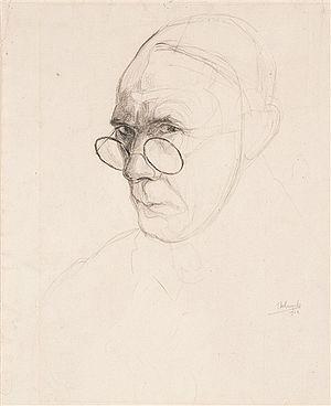 Jules De Bruycker - Jules De Bruycker, self-portrait (1932