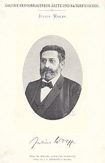 Julius Wolff (surgeon) German surgeon