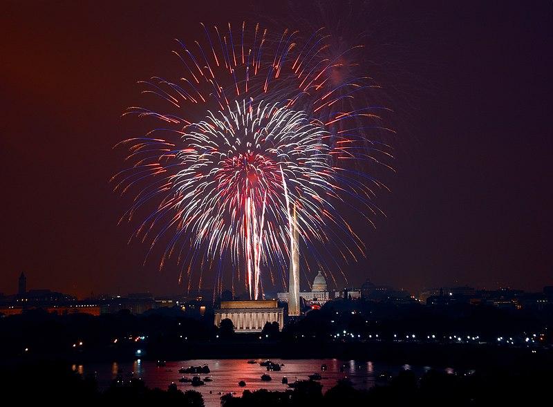 File:July 4th fireworks, Washington, D.C. (LOC).jpg