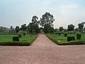 July 9 2005 - The Lahore Fort-A view looking south infront of the Hall of public audience.jpg