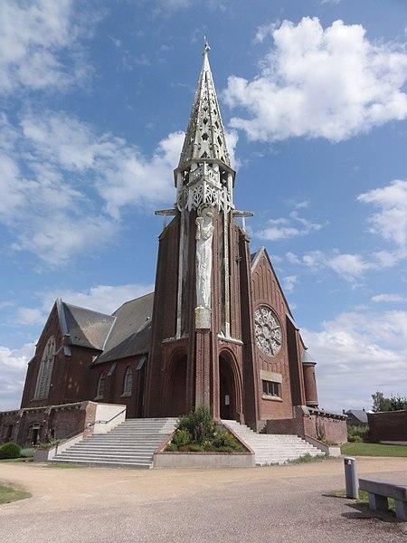 Jussy (Aisne) église Saint-Quentin