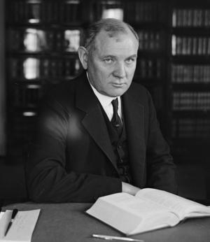 Pierce Butler (justice) - Justice Butler circa 1924