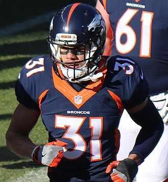 Justin Simmons (American football) - Simmons in the 2016 NFL season.