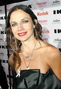 Justine Bateman at the Streamys 2010.jpg