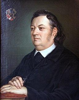 Justinus Kerner 1852 von Ottavio d'Albuzzi 2