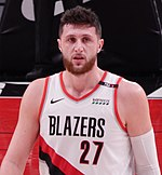 Jusuf Nurkić against the Cleveland Cavaliers (cropped).jpg
