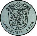 KFZ-Zulassungsplakette des Landkreises Leer Niedersachsen-alt.JPG