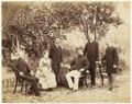 KITLV - 40335 - Stafhell & Kleingrothe - Medan - Europeans in Deli - circa 1890.tif