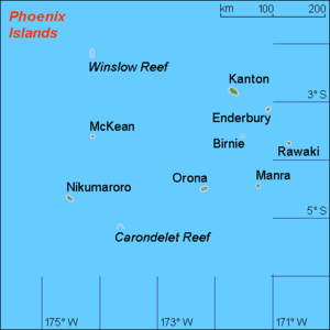 Phoenix Islands - Islands of Kiribati
