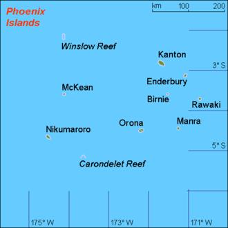 Phoenix Islands  Wikipedia