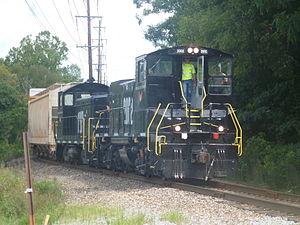 Gulf and Ohio Railways - Image: KXHRLOCAL1
