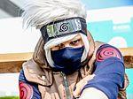 Kakashi Naruto Cosplay - MCM Comic Con London 2016 (27123495200).jpg