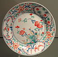 Kakiemon Dish with Bird on a Rock Design, c. 1670, Arita, hard-paste porcelain with overglaze enamels - Gardiner Museum, Toronto - DSC00383.JPG