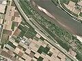 Kakuda Airfields, Kakuda Miyagi Aerial photograph.2011.jpg