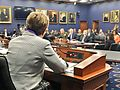 Kaptur questions Defense Secretary Mattis at a Defense Appropriations Subcommittee hearing (35344176585).jpg