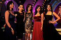 Karisma Kapoor,Genelia Dsouza grace the finale of UTV Stars 'Lux The Chosen One' 04.jpg