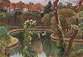 Karl Hofmann - Swans in the Park at Miramare Castle near Trieste.jpg