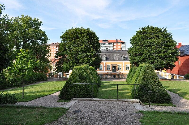 Barockträdgården i Grevagården