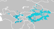 Karluk Turkse talen distributie map.png