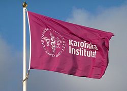 Karolinska institutes flagga 2012.jpg