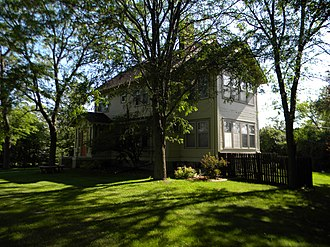 National Register of Historic Places listings in Day County, South Dakota - Image: Karpen House NRHP 08000042 Day County, SD
