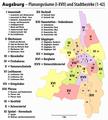 Augsburg Bezirke